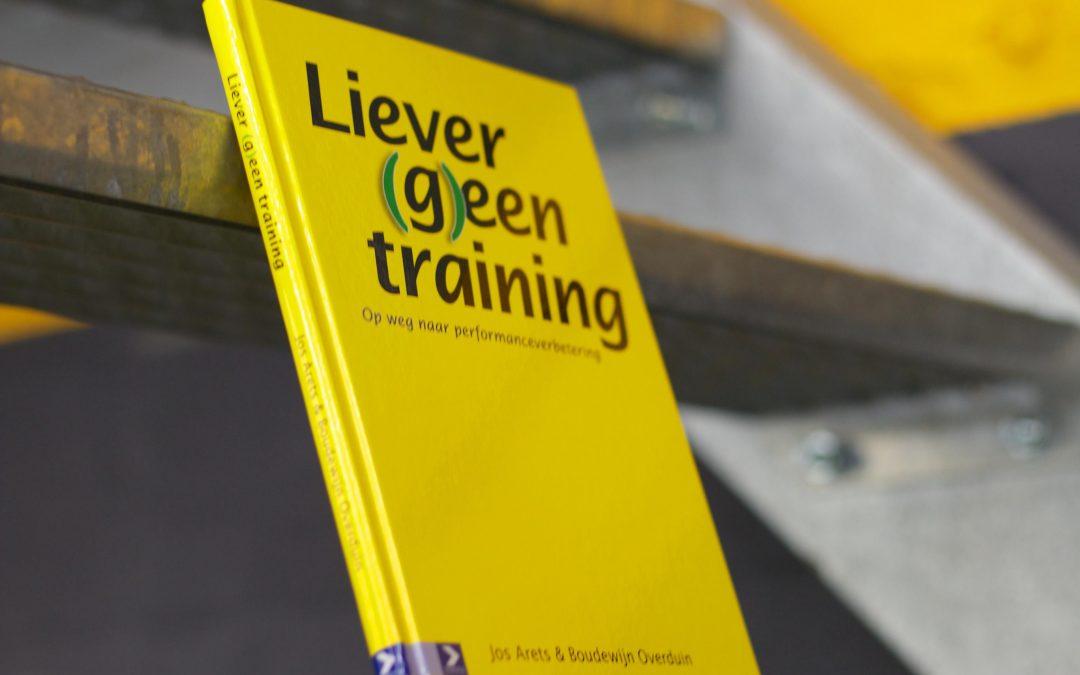De performanceparadox –  Liever (g)een training III